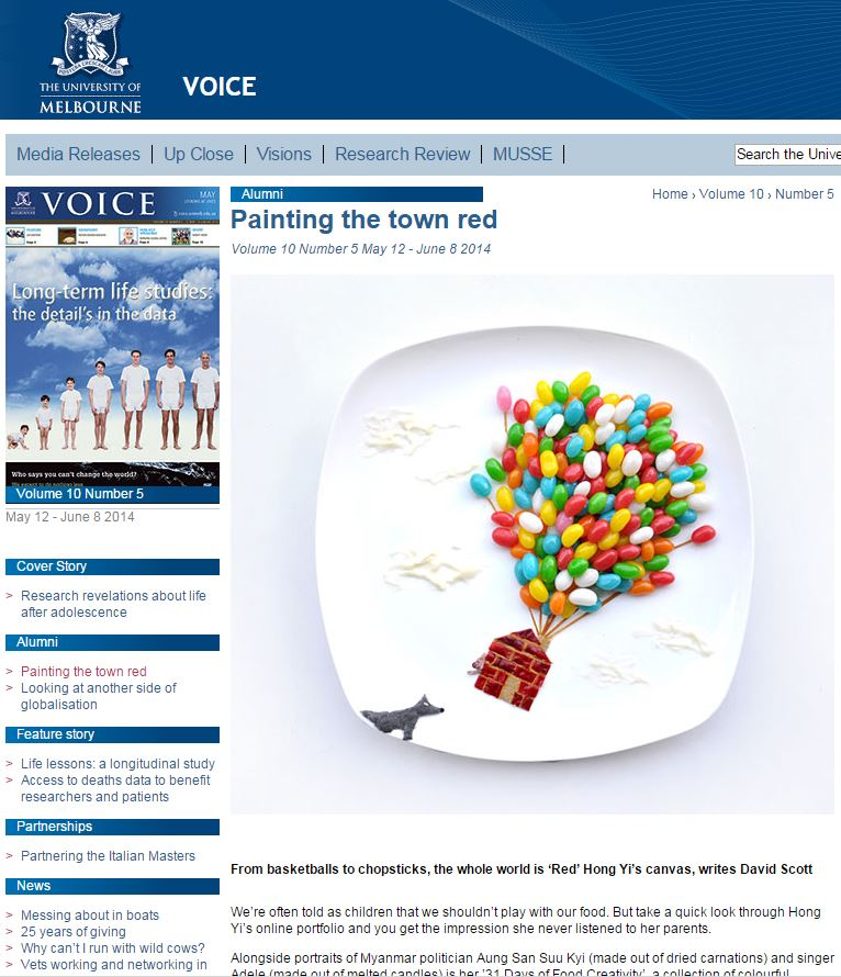 Voice - Voice, The Age - June 2014