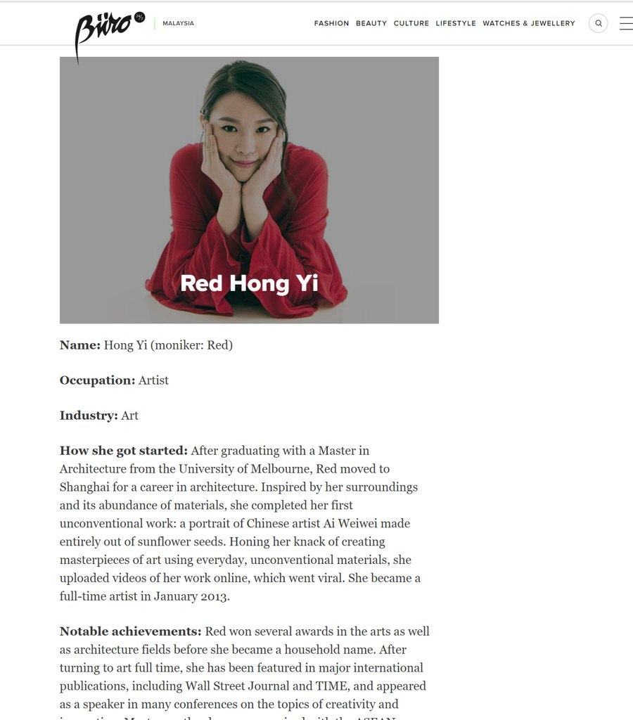 Post on 11th March - Buro 24/7 - March 2016