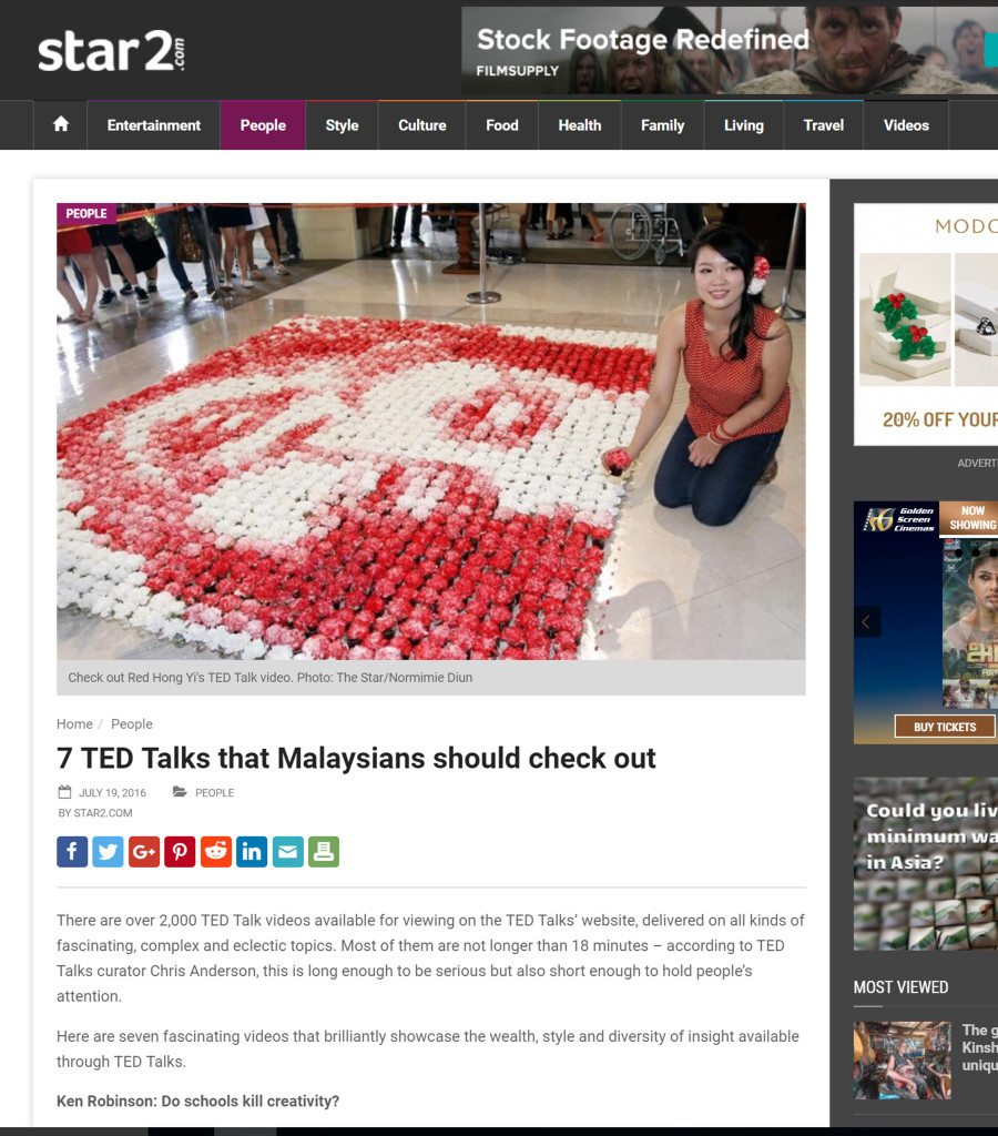 Post on 11th November - The Star - November 2016