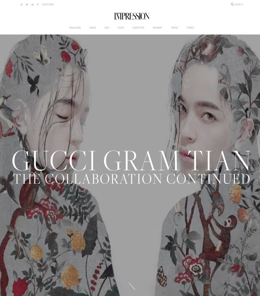 Post on 11th January - The Impression - January 2016